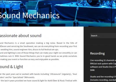 Sound Mechanics