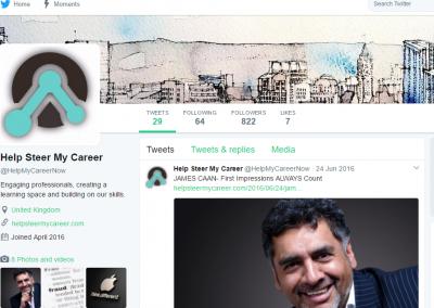Twitter 822 followers